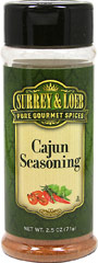 Cajun Seasoning  <p>Give your meals an authentic Cajun flair, with our new Surrey & Loeb house branded Cajun Seasoning.</p> 3.5 oz Seasoning  $5.09