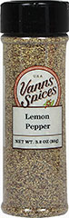 Lemon Pepper <p>Lemon Pepper will give your meals a zesty, peppery kick. This combination of ground white pepper and lemon oil lends a surge of flavor to just about everything – particularly fresh fish, poultry, vegetables and simple salads. <br /></p> 3.2 oz Seasoning  $9.99