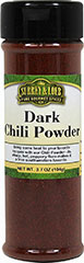 Dark Chili Powder <p>Our Surrey & Loeb branded Chili Powder adds a burst of flavor to Mexican style dishes. It can be used on a wide range of foods from chicken wings to hamburgers & beef and stew. Mix chili powder with shredded cheddar cheese and melt on tortilla chips to make delicious nachos. </p> 3.7 oz Powder  $8.99