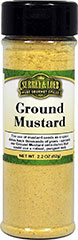 Ground Mustard <p>Our Surrey & Loeb ground mustard seed flour has a fresh clean aroma and a pungent biting flavor. Mustard adds zest to a wide variety of dishes.</p> 2.2 oz Powder  $5.09