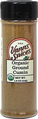 Organic Ground Cumin <strong></strong><p><strong>From the Manufacturer:</strong></p>Imported from India, this aromatic cumin is important to many cuisines. Ground for your convenience. 1.9 oz Bottle  $8.99