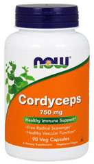 Cordyceps 750 mg <p><strong>From the Manufacturer's Label:</strong></p><p>Healthy Vascular Function**</p><p>Cordyceps sinensis is a species of fungus that has been widely used by traditional Chinese herbalists for its rejuvenative and adaptogenic properties for hundreds of years. Recent scientific research on Cordyceps has uncovered a broad range of biological actions, which are conferred primarily through its high polysaccharide content. Cordyceps s