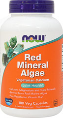Red Mineral Algae <p><strong>From the Manufacturer's Label:</strong></p><p>Calcium, Magnesium and Trace Minerals derived from Red Marine Algae</p>Plus Vegetarian Vitamin D<p></p><p>Aquamin®is a mineral supplement derived from red algae harvested off the coasts of Ireland and Iceland.  Aquamin® is a rich vegetarian source of bioavailable Calcium and Magnesium and contains over 70 other important trace minerals.  Marine vegetation