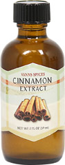 Cinnamon Extract <strong></strong><p><strong>From the Manufacturer:</strong></p>Tastes just like the spice itself. An easy addition to coffee, tea, and baked desserts.<br /> 2 fl oz Liquid  $7.99