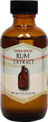 Rum Flavor Extract <b><p> From the Manufacturer:</b></p>Rum extract can be used to replace dark or light rum in any recipe. Fabulous in cakes, custards, beverages and marinades.    2 fl oz Liquid  $8.99