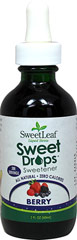 Stevia Liquid Extract Berry <p><strong>From the Manufacturer's Label:</strong></p><p>Sweet Leaf Stevia Liquid Berry a convenient sweetener that contains no calories or carbohydrates, and may be used in tea, coffee, smoothies, protein shakes, or any recipe. Delicious and has no aftertaste. From drinks to desserts, appetizers to entrees and so much more, the options are endless.<br /></p> 2 oz Liquid  $10.79