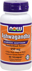 "Ashwagandha 450 mg Standardized Extract <p><strong>From the Manufacturer's Label:</strong></p><p><strong>Helps Body Adapt to Stress**</strong></p><p><strong>Immune System Support**</strong></p><p>Aswagandha (Withania somnifera) is an herb that is extensively used in Ayurveda, the traditional health care system in India.  Ashwagandha is used as a general tonic and ""adaptogen"", helping the body adapt to str"