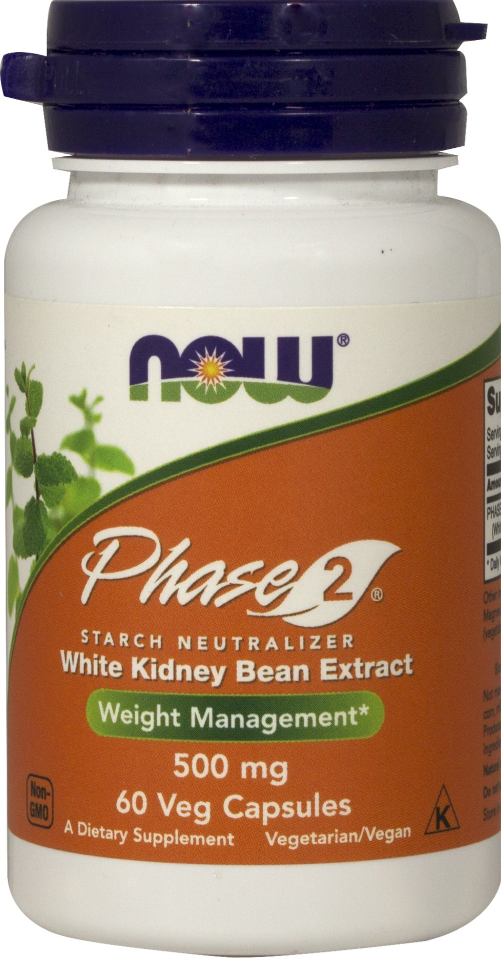 Phase 2 Starch Neutralizer <strong></strong><p><strong>From the manufacturer's Label</strong></p><p>NOW® PHASE 2® helps you achieve dietary management objectives without the use of stimulants or laxatives. PHASE 2® is an all-natural bean extract that has been shown in non-clinical studies to help reduce the breakdown and absorption of complex carbohydrates, by limiting the action of alpha-amylase, a digestive enzyme.  Alpha-amylase hel