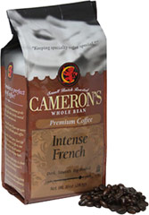 Intense French Whole Bean Coffee  <p><b>From the Manufacturer's Label:</b></p> <p><b>Made from 100% Arabica Beans, Kosher</b></p>  <p><b>Flavor/Origin:</b> Indonesia, Central America</p> <p><b>Taste:</b> Deep, intense roasted flavor.</p> <p><b>Freshness:</b> Exclusive packaging insures maximum freshness.</p>  <p>A coffee for true coffee lovers, our Intense French Roas