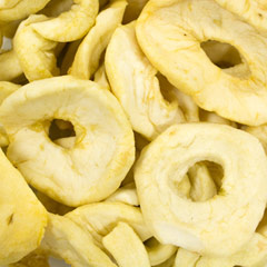 Apple Rings These sweet California apples not only taste great as a snack but are perfect for baking. 6 oz Container  $7.99