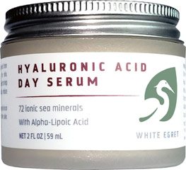 Hyaluronic Acid Serum We are proud to bring you Hyaluronic Acid Serum. Look to Puritan's Pride for high quality products and great nutrition at the best possible prices. 2 oz Serum  $11.89