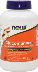 Glucomannan Powder <p><strong>From the Manufacturer's Label:</strong></p><ul><li>Supports Regularity*</li></ul><p>Glucomannan is a soluble, bulk-forming fiber derived from Konjac Root (Amorphophallus konjac).<br /></p><p>Manufactured by Now Foods</p><p></p> 8 oz Powder 2000 mg $11.99