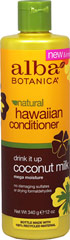 Alba® Coconut Milk Extra-Rich Hair Conditioner <p><b>From the Manufacturer's Label:</b></p> <p>Alba® Coconut Milk Extra-Rich Hair Conditioner is manufactured by Alba® Botanica.</p> 12 fl oz Conditioner  $6.29