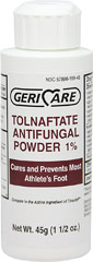 Tolnaftate Antifungal Powder 1% <p><b>From the Manufacturer''s Label:</b></p> <p>Compare to Active Ingredient in Tinactin®*</p>  <p>For effective treatment of most athlete's foot (tinea pedis) and ringworm (tinea corporis)</p>  <p>Relieves symptoms of athlete's foot including itching, burning and cracking</p>  <p>Helps prevent most athlete's foot infections when used daily</p>    <p>*This product i