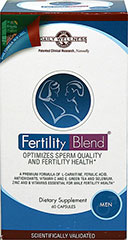 Fertility Blend�� for Men <p><strong>From the Manufacturer's Label:</strong></p><p>Fertility Blend for Men is manufactured by Daily Wellness.</p> 60 Capsules  $27.99