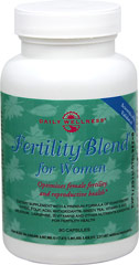 Fertility Blend for Women <p><strong>From the Manufacturer's Label:</strong></p><p>Fertility Blend for Women is manufactured by Daily Wellness.</p> 90 Capsules  $19.80