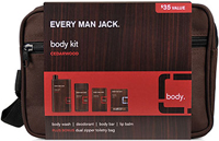 Every Man Jack® Cedarwood Body Kit <p><strong>From the Manufacturer's Label:</strong></p><p><strong>You Could Use a Good Shower.</strong></p><p>Everyone deserves great stuff for the shower - and for afterwards, too.  That's why Every Man Jack® brings you the cedarwood body kit, containing our hydrating body wash, cleansing body bar, aluminum free deodorant and a toiletry bag for when you're on the go.</p><p>O