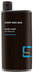 Every Man Jack® Signature Mint Body Wash & Shower Gel  16.9 oz Liquid  $6.99