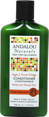 Andalou Sweet Orange & Argan Moisture Rich Conditioner <p><strong>From the Manufacturer's Label:</strong></p><p><strong>Moisture Rich</strong></p><p><strong>Benefits Dry, Curly, Textured Hair</strong></p><p>Sweet orange revitalizes follicles. Omega rich Argan oil deeply penetrates each strand, repairing and restoring moisture, elasticity and strength, minimizing split ends and frizz with amazing luster and shin