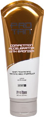 Competition Accelerator With Bronzer  <p><b>From the Manufacturer's Label:</b></p> <p>Competition Accelerator With Bronzer is manufactured by Pro Tan.</p> 8 oz Cream  $14.99