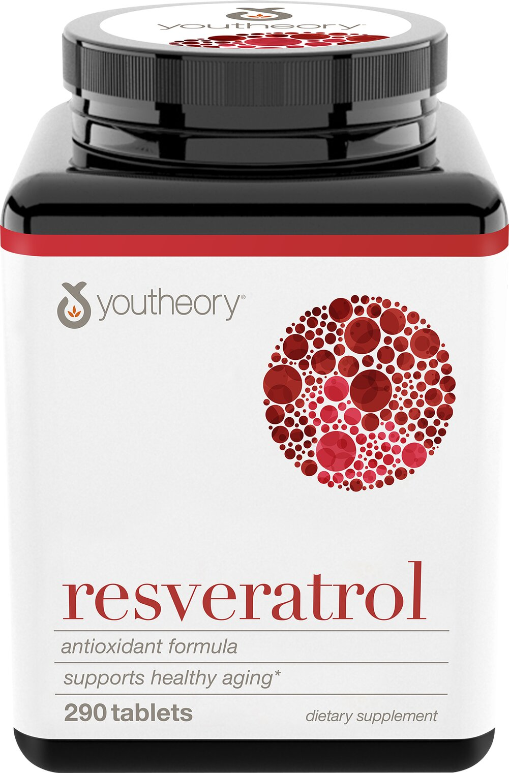 Resveratrol With Super Fruit Blend  290 Tablets  $20.19