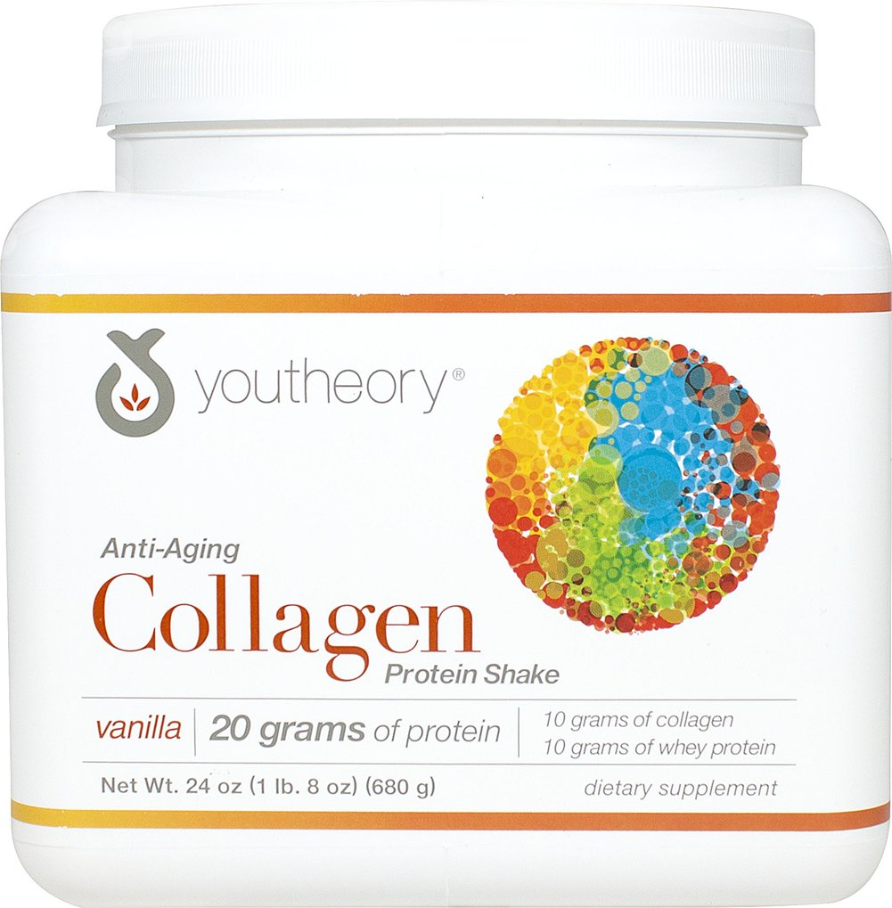 Collagen Protein Shake Vanilla  <p><b>From the Manuafacturer's Label:</p></b>  <p><b>-  Beauty Inside & Out</p></b> <p><b>- Maximum Absorption</p></b> <p><b>-  Amino Acids - stronger hair & nails**</p></b> <p><b>- Added Nutrients</p></b> <p><b>- Great for Ligaments & Tendons**</p></b>  <p>Designed for the active, busy, and on the go