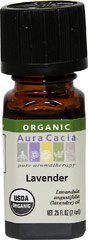 Organic Lavender Oil <b><p> From the Manufacturer:</b></p><p>Lavender's perfectly balanced floral-herbaceous aroma provides an unmatched array of attributes—calming, relaxing, refreshing, toning and cleansing—making it the most popular oil in aromatherapy.</p> 0.33 oz Oil  $21.99