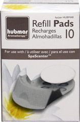 Refill for #17375 Spa Center Diffuser 10 Reusable SpaScenter Refill Pads for Item # 73175 10 ct Box  $1.49