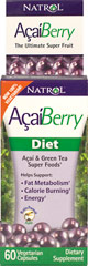 Acai Berry Diet <p>From the Manufacturer's Label:</p><p>Acai and Green Tea Super Foods</p><p>Manufactured by Natrol.</p><p></p><p></p> 60 Capsules  $6.14