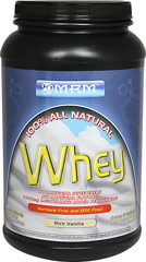 Whey Protein With Glutamine Rich Vanilla <p><strong>From the Manufacturer's Label:</strong></p><p>Whey Protein With Glutamine is manufactured by MRM.</p><p>Available in Rich Vanilla and Dutch Chocolate.</p> 2.02 lbs Powder  $26.99