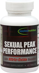 Sexual Peak Performance™ <p><b>From the Manufacturer's Label:</b></p> <p>Sexual Peak Performance™ is manufactured by Applied Nutrition.</p> 40 Tablets  $14.99
