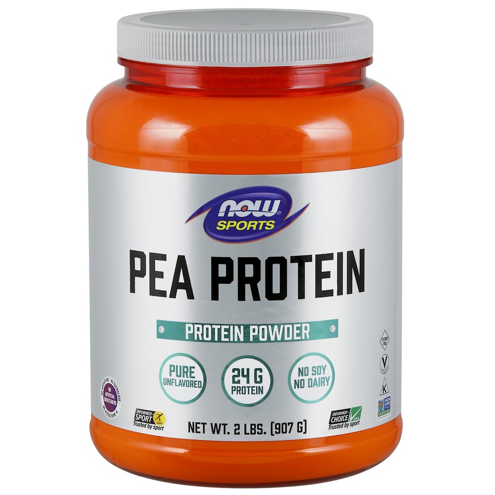 Pea Protein Unflavored  2 lbs Powder  $16.69