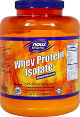 Whey Protein Isolate Unflavored <p><strong>From the Manufacturer's Label:</strong></p><p>Whey Protein Isolate Unflavored is manufactured by NOW® Foods.</p> 5 lbs Powder  $69.99