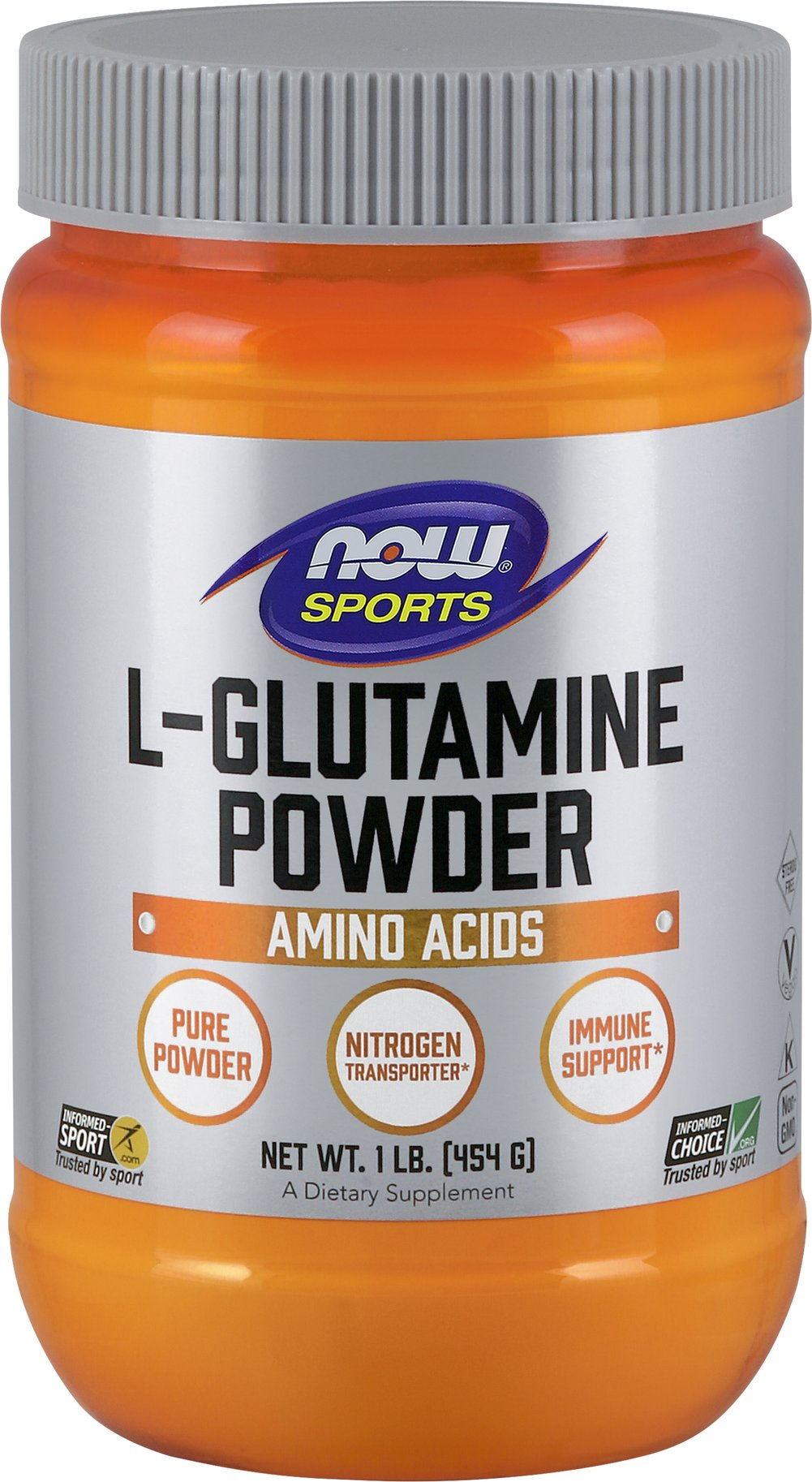 L-Glutamine Powder 5000 mg <p><strong>From the Manufacturer's Label:</strong></p><p>NOW® L-Glutamine Powder is a 100% pure, free-form, non-essential, amino acid and is the highest grade available.**</p><p>Manufactured by NOW® Foods</p> 1 lb Powder 5000 mg $23.99
