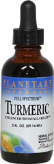 Turmeric Liquid <p><b>From the Manufacturer's Label:</b></p> <p>Turmeric Liquid is manufactured by Planetary Herbals.</p> 2 oz Liquid  $8.49