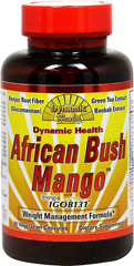 African Bush Mango with Irvingia <p><strong>From the Manufacturer's label:</strong></p><p>With Konjac Root Fiber (Glucomannan), Green Tea Extract, and Baobab Extract</p><p>Manufactured for Dynamic Health Laboratories</p> 60 Capsules