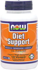 Diet Support <p><strong> From the Manufacturer's label:</strong></p><p>Advanced Thermogenic Formula</p><p>with Forslean®</p><p>Vegetarian Formula</p><p>Manufactured by Now Foods</p> 120 Capsules  $16.96