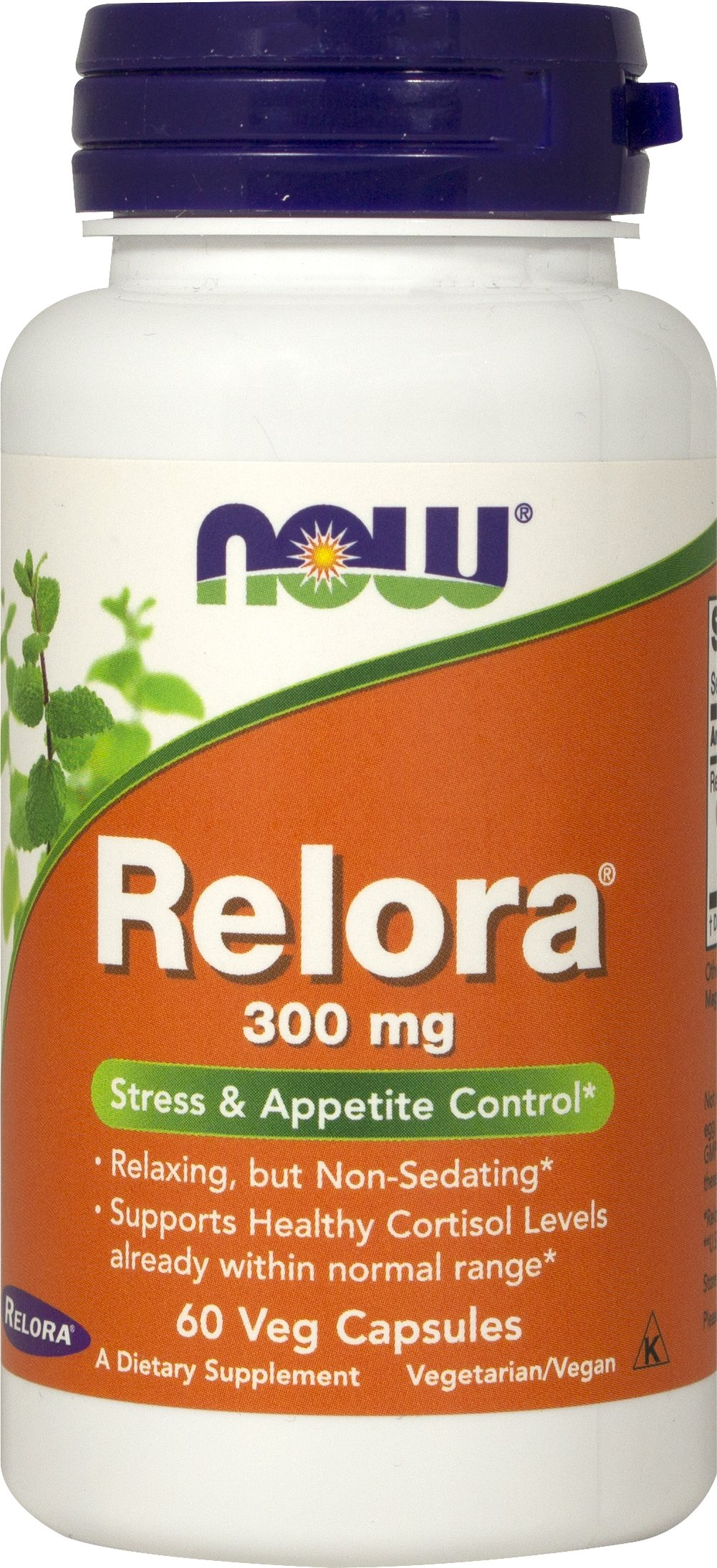 Relora <p><strong> From the Manufacturer's label:</strong></p><p>Vegetarian Formula</p><p></p>NOW®Relora® is an all-natural proprietary blend of plant extracts from Magnoli officinalis and Phellodendron amurense that is not habit-forming.**<p></p><p>Manufactured by NOW FOODS</p> 60 Capsules 300 mg $10.99