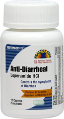 Loperamide HCL 2 mg <p><strong>From the Manufacturer's Label:</strong></p><p>Loperamide HCL 2 mg is manufactured by Health Star.</p> 12 Caplets 2 mg $6.99