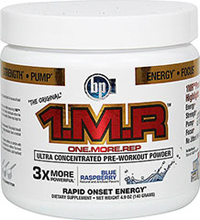 1.M.R Blue Raspberry  <p><b>From the Manufacturer's Label:</b></p> <p>1.M.R Blue Raspberry is manufactured by BPI Sports.</p> 140 g Powder  $39.99