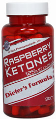 Raspberry Ketones <p><strong>From the manufacturer's label</strong></p><p>125 mg Raspberry Ketones per capsule</p><p>Manufactured by Hi-Tech Pharmaceuticals, Inc.</p> 90 Capsules 125 mg $14.40