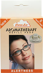 Aromatherapy Refill Pads These Vapor-Eze Aromatherapy Refill Pads are for you to refill your Vapor-Eze Waterless Vaporizer/Aromatherapy Unit. 5 Pads  $7.99