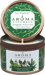 Evergreen Juniper, Spruce & Basil Soy Candle  1 Each  $9.99