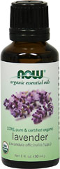 Organic Lavender Essential Oil <p>Lavender essential oil's unique floral-herbaceous aroma and relatively safe and gentle aromatherapeutic action make it one of the most important aromatherapy essential oils.</p><p>Extra large 1 oz</p> 30 ml Oil  $12.99
