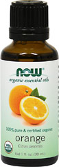 Organic Orange Essential Oil  30 ml Oil  $9.99