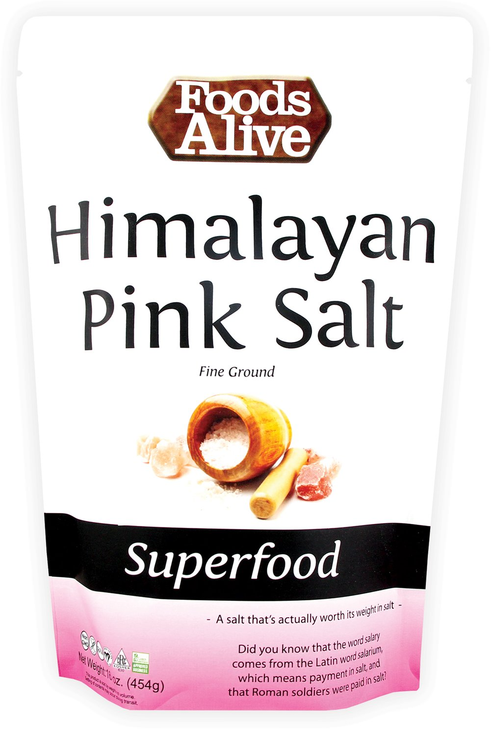 Himalayan Pink Salt <strong></strong><p><strong>From The Manufacturers Label:</strong></p><p>Himalayan Pink Salt can be consumed as a mineral water or it can be put directly on your food or used in cooking. Enjoy 100% Pure Mineral Salt for your own benefits!<br /></p> 14 oz Salt  $7.99