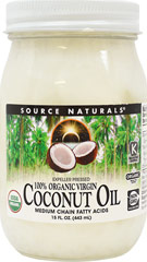 100% Organic Extra Virgin Coconut Oil  15 fl. oz. Oil  $9.49