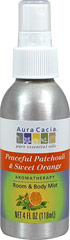 Patchouli & Sweet Orange Spray  4 fl oz Spray  $5.99