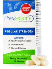 Prevagen® 10 mg <p><strong>From the Manufacturer's Label: </strong></p><p>Feel younger**</p><p>Increased energy**</p><p>More concentration**</p><p>Scientific studies show a reduction in cellular death by up to 50%**</p><p>As you grow older you lose valuable age-fighting proteins that help protect your brain cells.  Prevagen™ is a protective protein with technology from a jellyfish intended to replace age fight
