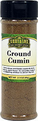 "Ground Cumin <strong></strong><p><strong>From the Manufacturer:</strong></p><p>This spice is used in Caribbean, Japanese, Middle East & Eastern Mediterranean, Thai, Indian, and Latino dishes. <span class=""bold-aboutinfo""> </span>Strong, warm, nutty-earthy flavor and pungent aroma.<span class=""bold-aboutinfo""> Try </span>it in curry, chili, hummus, soups, stews, meatloaf, vegetables, sausages – the possi"